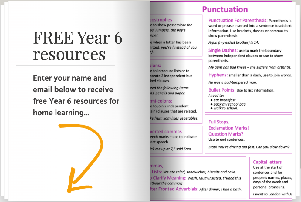 free-year-6-home-learning-resources